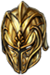 Helm golden dragon rider