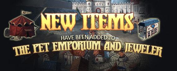 Scroller new citadel items