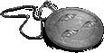 Trieye medallion grey