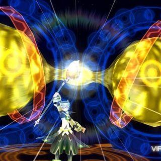 <center>Tsukasa summons his Guardian.</center>