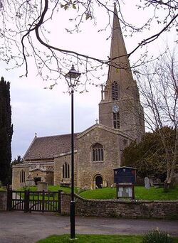 St-Marys-Church-in-Bampton-Village-plays-a-part-in-Downton-Abbey