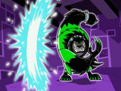 S01e15 Wulf making a portal