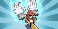 Fenton Ghost Gloves