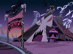 S01e20 Circus Gothica tent