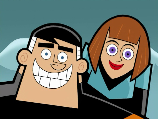 Image - S02M03 Jack and Maddie smiling.png | Danny Phantom ... Danny Phantom Jack