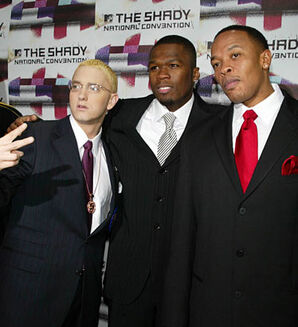 Dr dre eminem and 50 cent