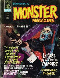 Quasimodo's Monster Magazine July 1975