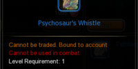 Psychosaur's Whistle