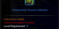 Venomshell Drone's Whistle