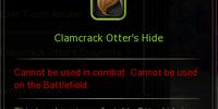 Clamcrack Otter's Hide