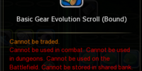 Basic Gear Evolution Scroll (Bound)