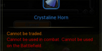 Crystaline Horn