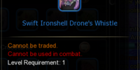 Swift Ironshell Drone's Whistle