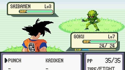 DBZ Team Training- A new Pokémon hack !