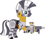 Zecora with her guns