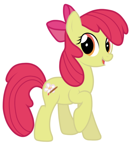 File:Grown up apple bloom by jennieoo-d5b65tp.png
