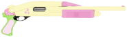 EQG Fluttershy Remington870PoliceFolded