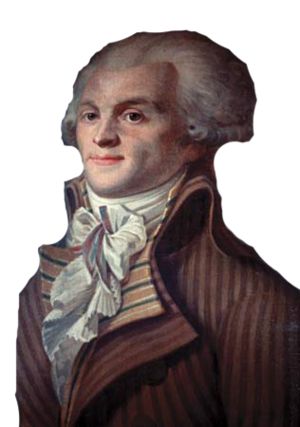 Maximilien Robespierre photoshopped