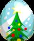 Christmas Tree Egg