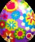 Flower Power Egg