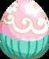 Cupcake Egg