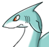 Shark adult icon