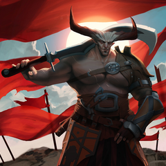 Promotional artwork of The Iron Bull