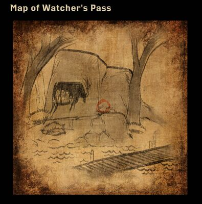 Map of Watcher's Pass
