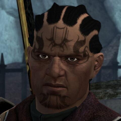 Cahir, a Chasind bodyguard