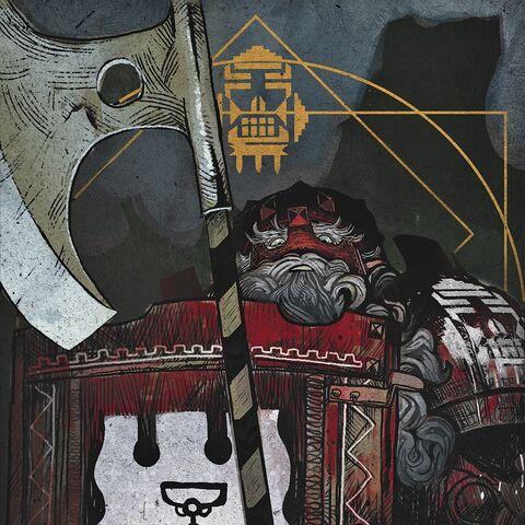 The Legionnaire tarot card