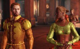 Lady Liza Packton and Ser Derren