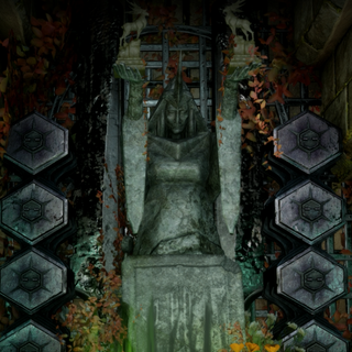Shrine in the <a href=