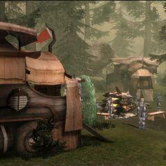 The Dalish Camp
