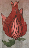 The Blooming Rose logo