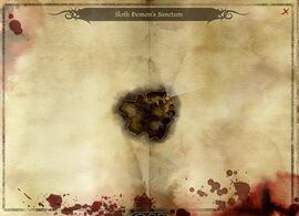 Map-Sloth Demon's Sanctum