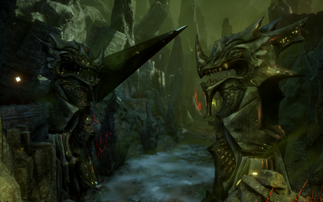 File:Here Lies the Abyss - Dragon statues.png