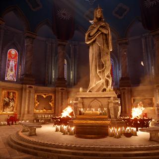 Valence Cloister altar