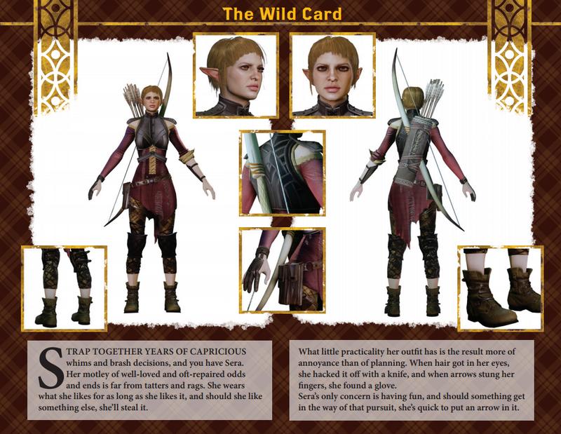 Sera character kit