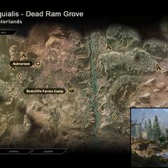 Peraquialis - Map Location