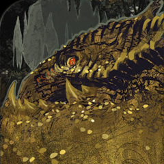 Dragon tarot card