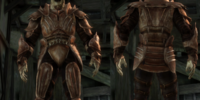 Darkspawn plate armor set
