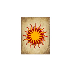 Another version of the Chantry Sunburst