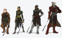 Female Inquisitor Armors