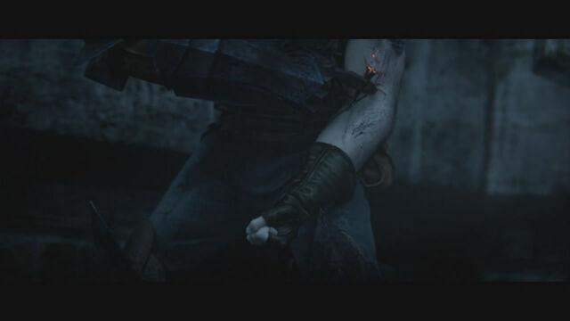 File:Dragon Age 2 Destiny Trailer. Hawke's Gauntlet.jpg