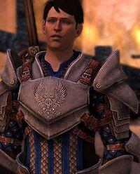 Carver as a Grey Warden