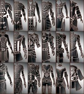 Companion armor icons (Dragon Age II)