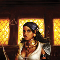 Isabela on the second issue's cover