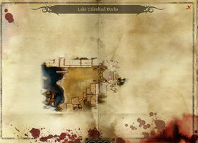 Map-Lake Calenhad Docks