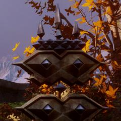 Dwarven banner with crown