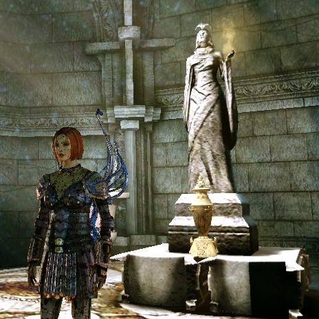 File:DAO Leliana near the Urn of Sacred Ashes.jpg